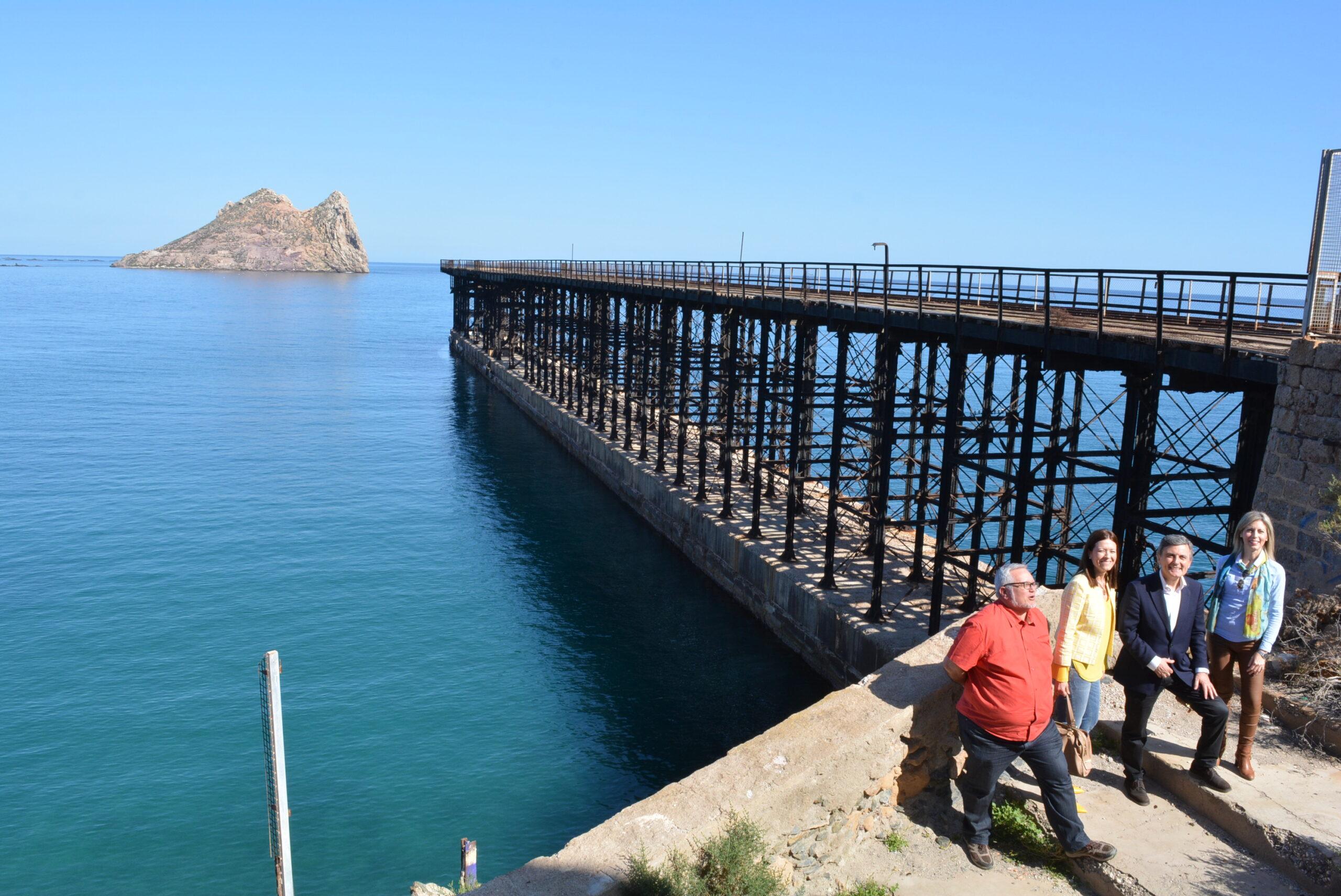 Un millón de euros para rehabilitar el embarcadero de El Hornillo