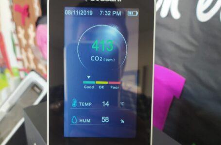 Las aulas de Puerto Lumbreras incorporan 215 medidores de CO2