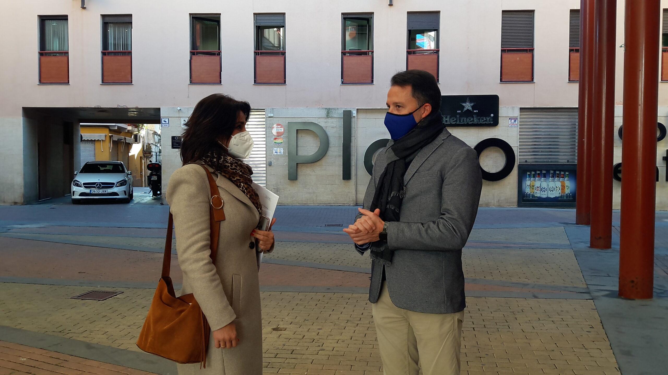 El Partido Popular de Lorca propone dedicar la antigua plaza de abastos al artista Joaquín Castellar