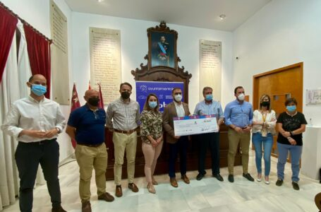 La carrera solidaria 'Corre X Lorca' recauda 2.000 euros para Cáritas