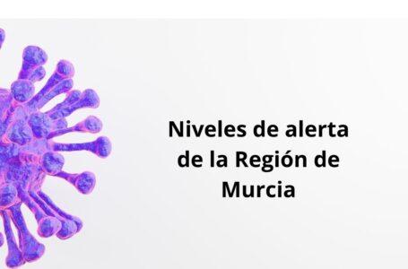 ¿Cuáles son los nuevos niveles de alerta de la Región de Murcia?
