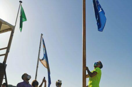Las playas de Lorca mantienen la Bandera Azul