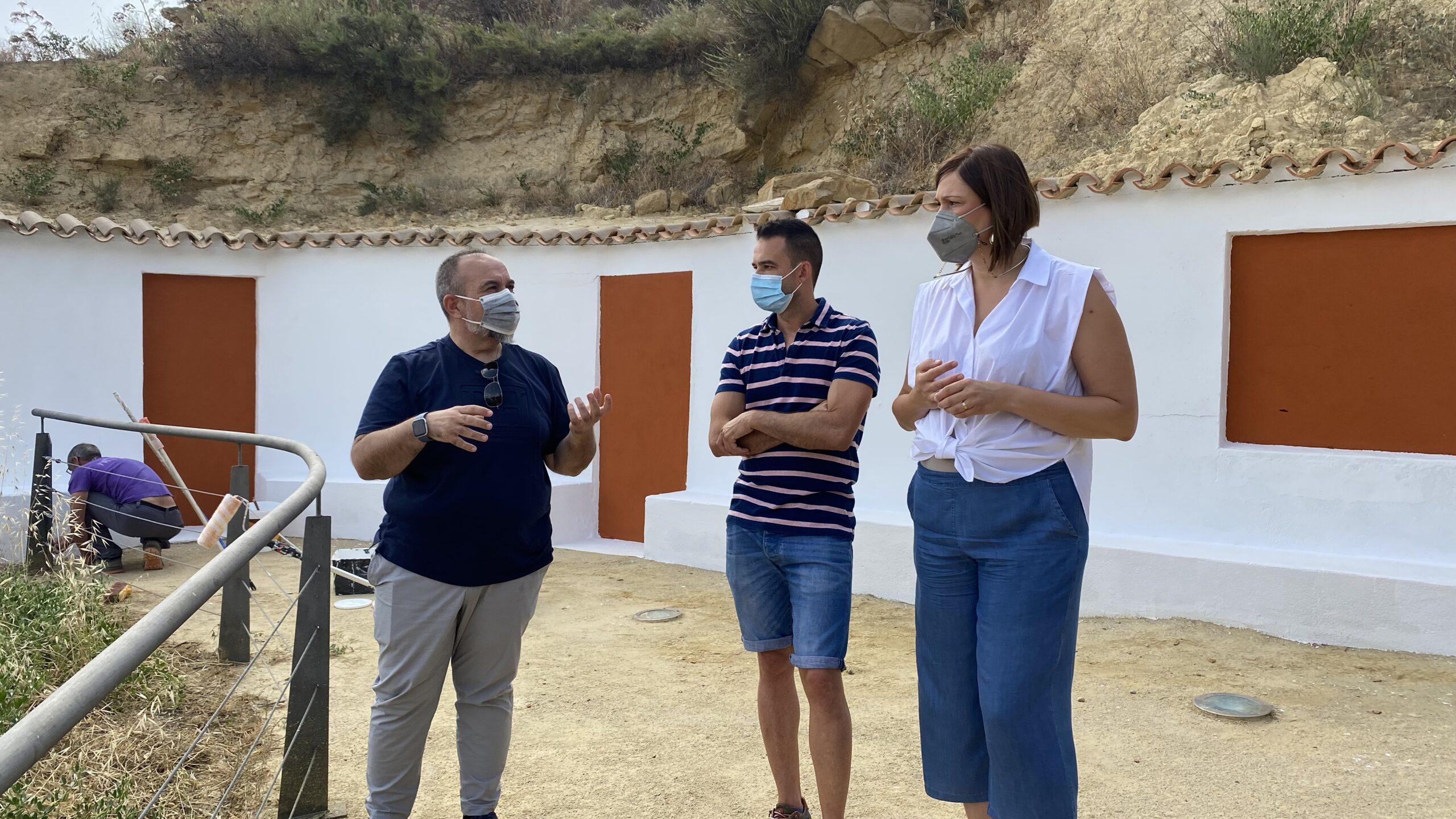 El Ayuntamiento de Puerto Lumbreras mejora las infraestructuras del complejo Medina Nogalte