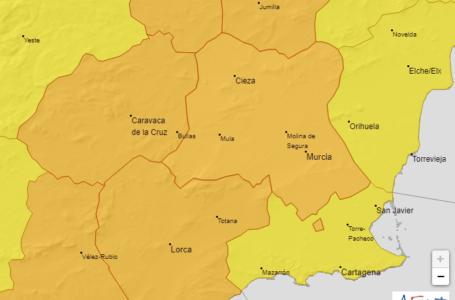 La AEMET activa las alertas naranjas en la Región de Murcia por calor