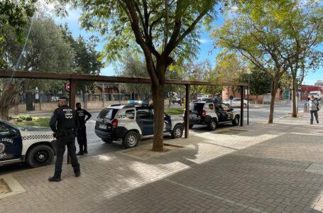 La Policía Local de Lorca arresta a una mujer con una orden de detención vigente
