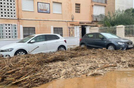 Águilas solicitará la declaración de zona catastrófica tras la DANA del pasado jueves